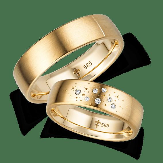 Ariane (Modell 19) – Gelbgold